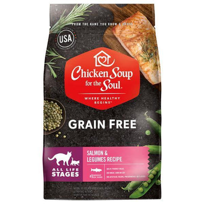 Chicken Soup Pets - Grain Free Salmon & Legumes Cat Food