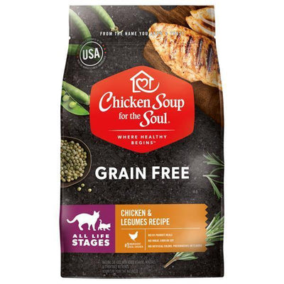 Chicken Soup Pets - Grain Free Chicken & Legumes Cat Food