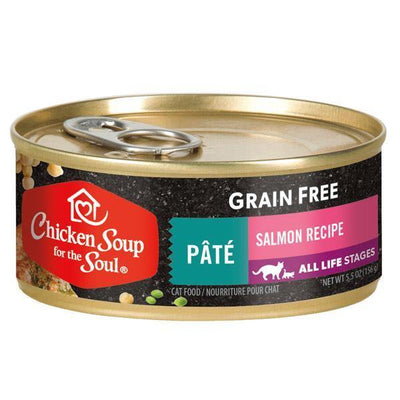 Chicken Soup Pets - Grain Free Pate Salmon Cat Food 156g