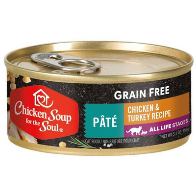 Chicken Soup Pets - Grain Free Pate Chicken & Turkey Cat Food 156g