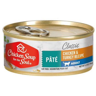 Chicken Soup Pets - Pate Chicken & Turkey Cat Food 156g