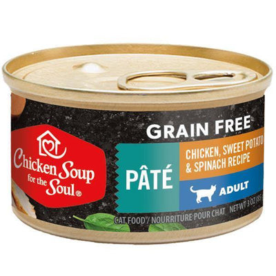 Chicken Soup Pets - Grain Free Chicken Sweet Potato & Spinach Cat Food 85g