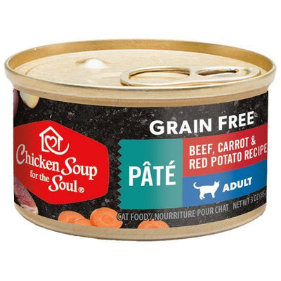 Chicken Soup Pets - Grain Free Beef Carrot & Potato Cat Food 85g