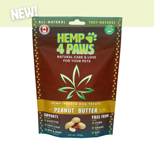 Hemp4Paws Hemp Infused Treats - Peanut Butter 250g