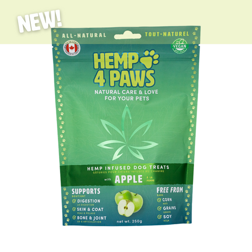 Hemp4Paws Hemp Infused Treats - Apple 250g