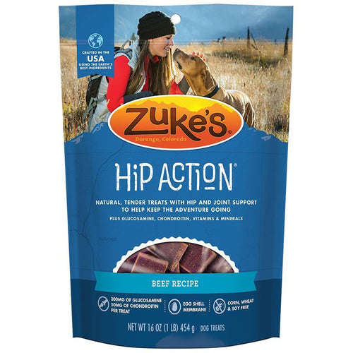 Zuke's Hip Action - Beef 16oz