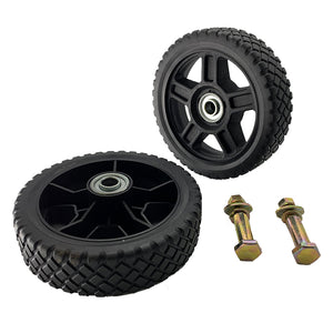 "Universal 6"" Wheels Kit for Push Mower"