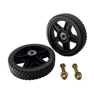 "Universal 7"" Wheels Kit for Push Mower"
