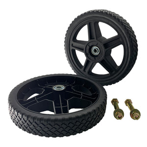 "Universal 10"" Wheels Kit for Push Mower"