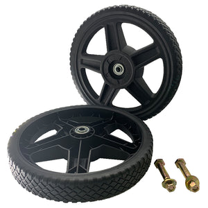"Universal 12"" Wheels Kit for Push Mower"