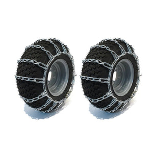 Snow Mud Traction Tire Chains 16X6.50-8 16X6.5X8