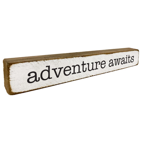 Adventure Awaits Home Accent - Seven Anchor Designs