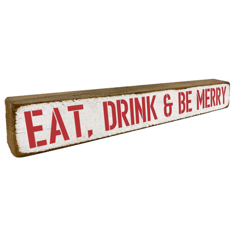 Eat, Drink & Be Merry Holiday Home Accent - Seven Anchor Home Decor
