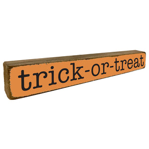 Trick-Or-Treat Halloween Fall Home Accent - Seven Anchor Home Decor