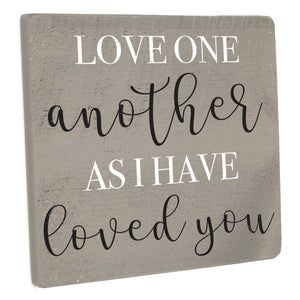 As I Have Loved You Wall Décor - Seven Anchor Designs
