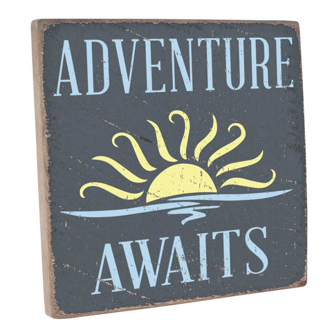 Adventure Awaits Explore Wall Décor- Seven Anchor Designs