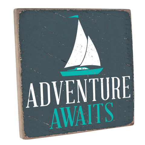 Adventure Awaits Wall Décor - Seven Anchor Designs