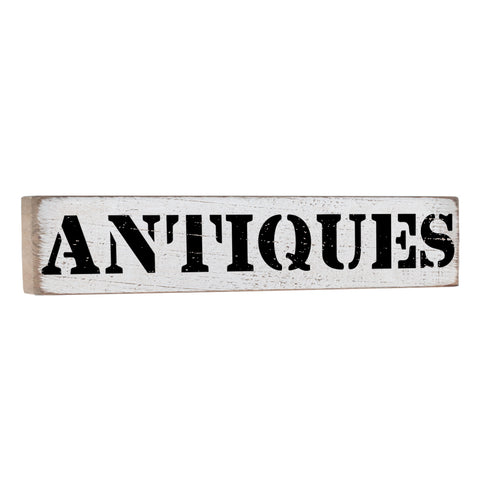 Antiques Bold Vintage Wall Decor Sign - Seven Anchor Designs