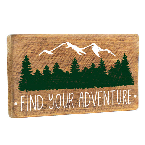 Find Your Adventure Wall Décor - Seven Anchor Designs