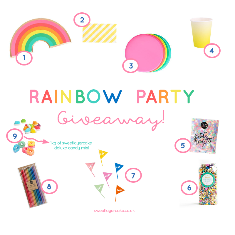 Rainbow Party In a Box