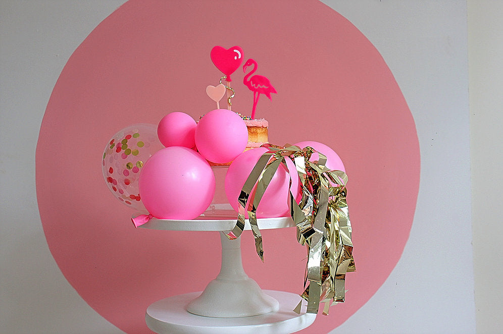 I Heart Balloon Cake Topper - Sweet Layer Cake