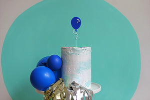 Blow Me Away Balloon Topper - Sweet Layer Cake