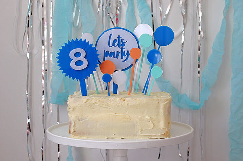 Let's Party Cake Topper - Sweet Layer Cake