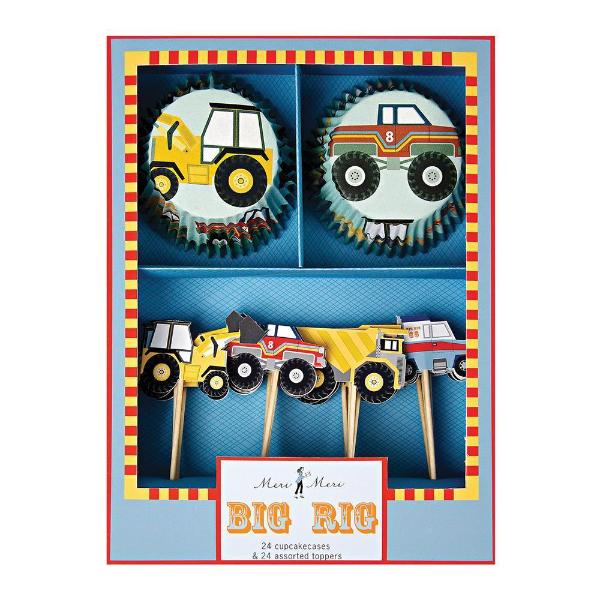 Big Rig Cupcake Kit - Sweet Layer Cake