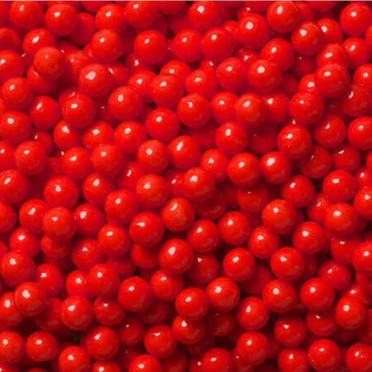 Red Sugar Candy Beads