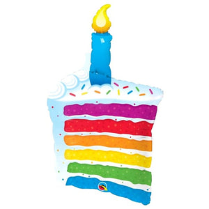 Birthday Cake Balloon - Sweet Layer Cake
