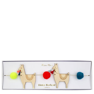 Llama and Pompom Garland - Sweet Layer Cake