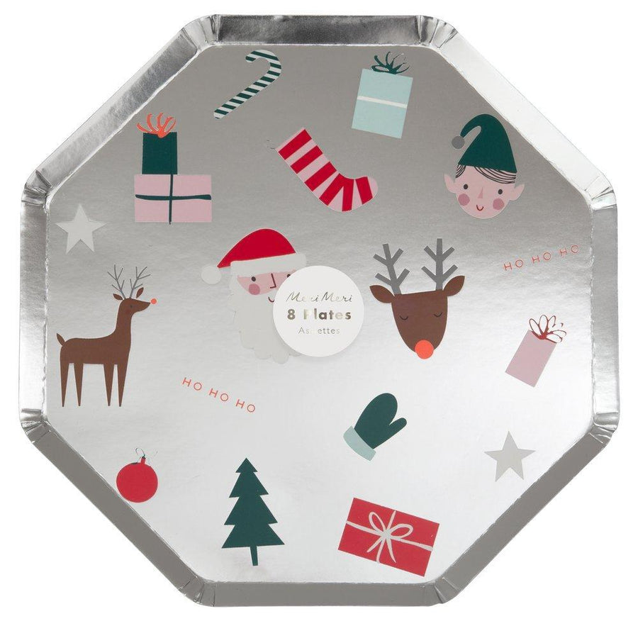 Festive Icons Dinner Plates - Sweet Layer Cake