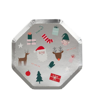 Festive Icons Side Plates - Sweet Layer Cake