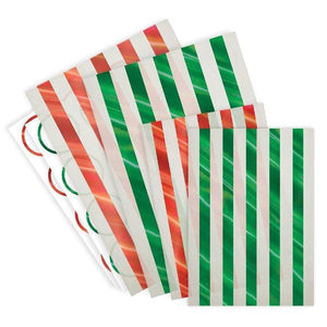 Festive Glassine Treat Bags - Sweet Layer Cake