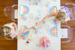 Over The Rainbow Cups - Sweet Layer Cake