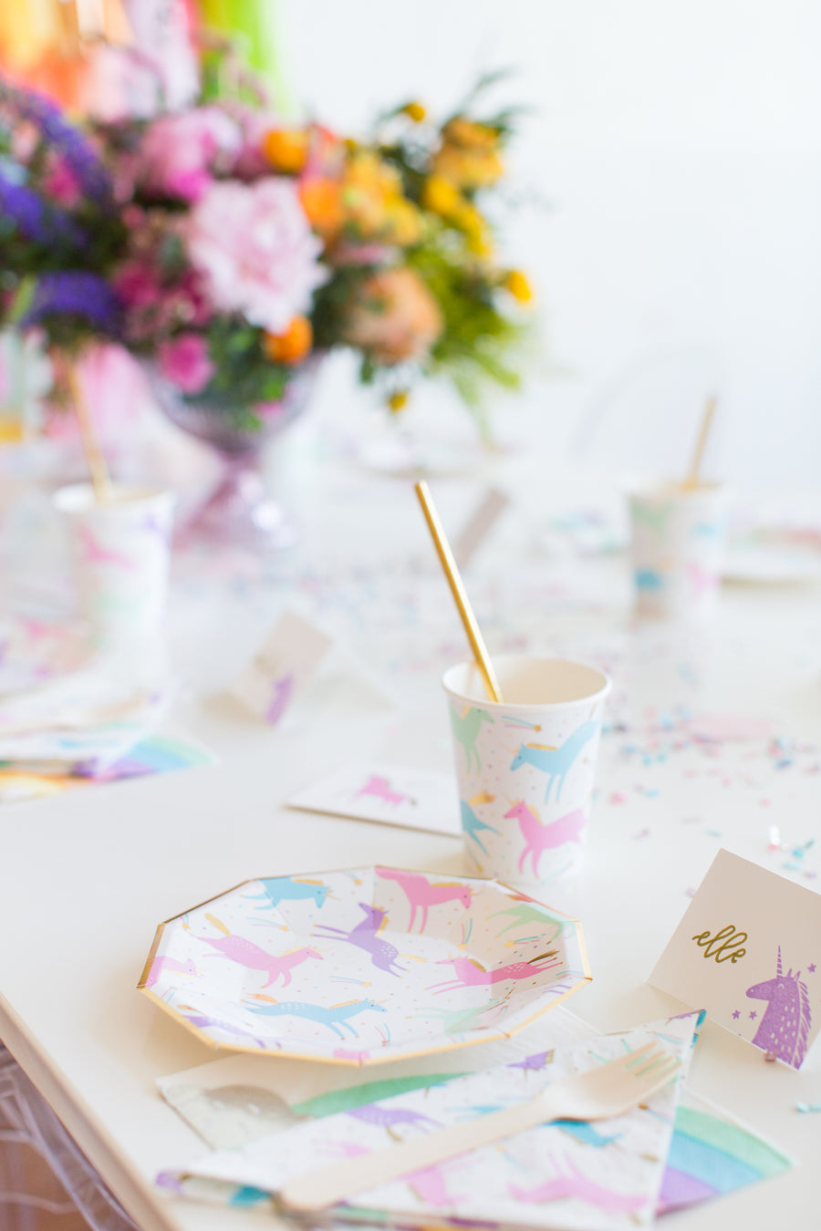Magical Unicorn Napkins - Sweet Layer Cake