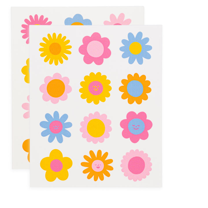 Flower Edible Stickers