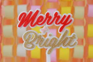 Merry + Bright Cake Topper - Sweet Layer Cake