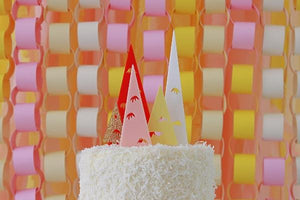 Bristle Tree Cake Topper Set - Sweet Layer Cake