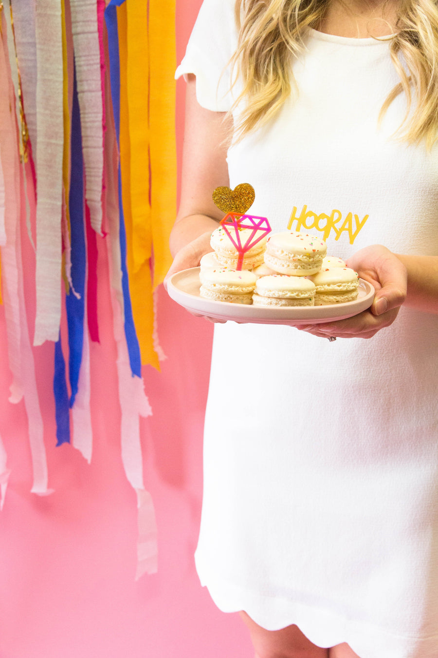 Hooray Treat Toppers - Sweet Layer Cake