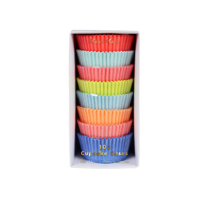 Neon Cupcake Cases - Sweet Layer Cake