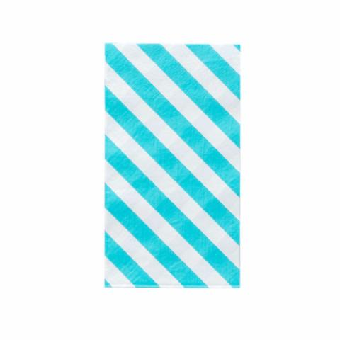 Stripes Dinner Napkins - Sky - Sweet Layer Cake