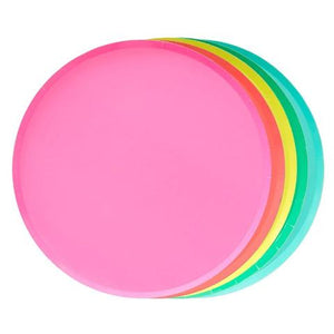 Rainbow Plate Set (Large) - Sweet Layer Cake