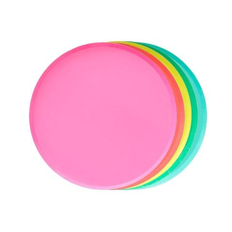 Rainbow Plate Set (Small) - Sweet Layer Cake