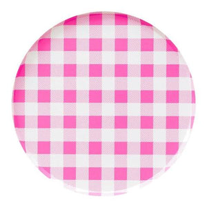 Neon Rose Gingham (Large) - Sweet Layer Cake