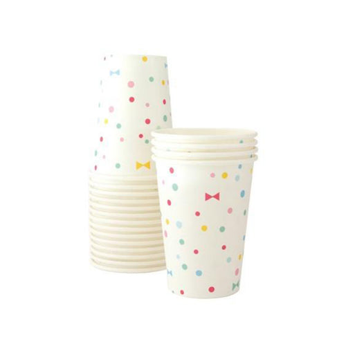 Summer Bows Paper Cups - Sweet Layer Cake