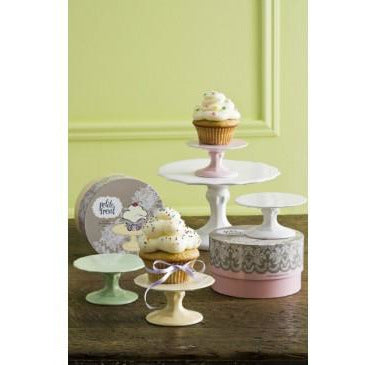 Petite Treat Cupcake Stand - Yellow - Sweet Layer Cake