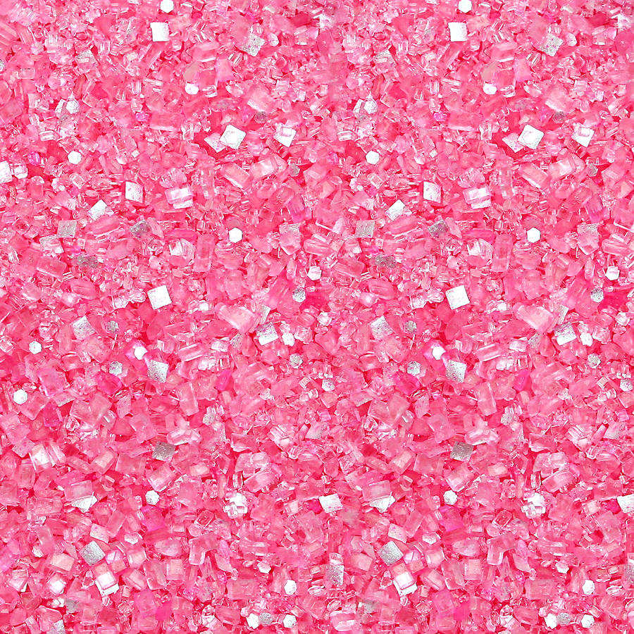 Pink Glittery Sugar - Sweet Layer Cake