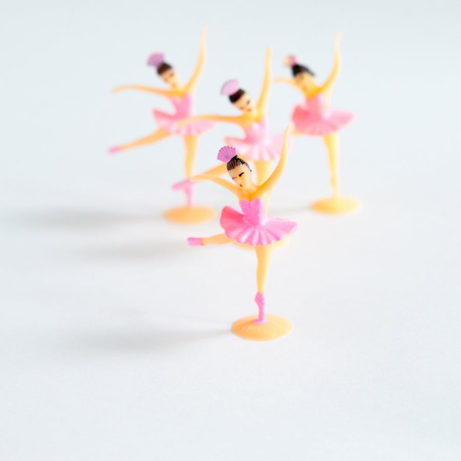 Pink Ballerina cake toppers - Sweet Layer Cake