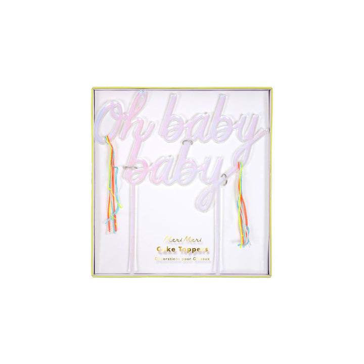 Oh Baby Baby Cake Topper - Sweet Layer Cake